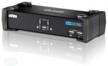 KVM Switch 2-fach, ATEN CS1762A, 2-fach, DVI/USB/A