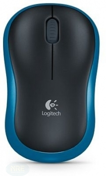 Logitech M185 Wireless Mouse, USB,  Blau