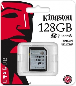 Kingston 128GB MicroSDXC/Class10/UHS-I