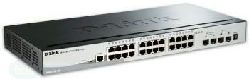 D-Link DGS-1510-28/Gigabit/28-Port/smart managed