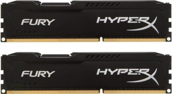 Kingston HyperX FURY 8GB, Kit, DDR3, 1600