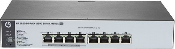 HP 1820-8G-PoE+/8-Port/smart managed/Layer 2