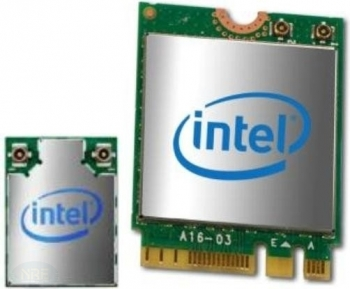 Intel Wireless-AC 3165 + Bluetooth, M.2/E-Key