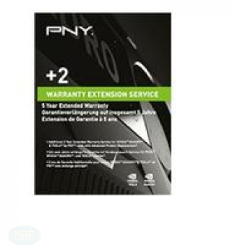 PNY WARRANTY EXTENSION 5 YEARS P7
