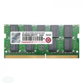 Transcend 8GB DDR4 2133 ECC-SO-DIMM 2RX8