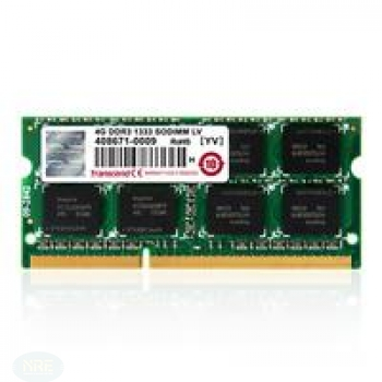 Transcend 4GB DDR3 1600 SO-DIMM 2RX8