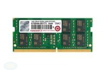 Transcend 16GB DDR4 2400 ECC-SO-DIMM 2RX