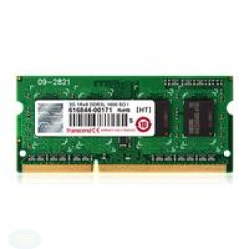 Transcend 4GB DDR3 1600 SO-DIMM 1RX8