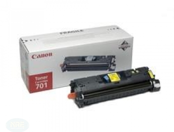 Canon TONER CARTRIDGE 701 YELLOW