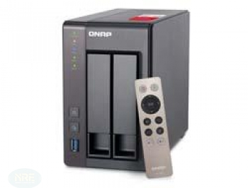 QNAP TS-251+-8G 2BAY 2.0GHZ 8GB DDR