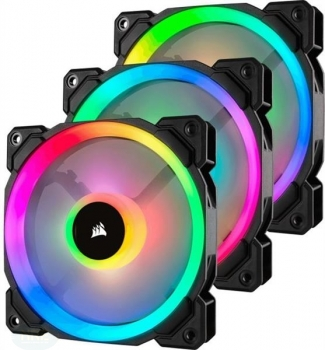 Corsair LL Series LL120 RGB/120mm/3er/LED-Steuer
