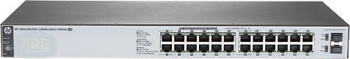 HP OfficeConnect 1820 24G Rackmount Gigabit Smart Switch, 24x RJ-45, 2x SFP, PoE+ (J9983A)