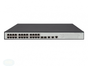 HP OfficeConnect 1950 24G Rackmount Gigabit Smart Switch, 26x RJ-45, 2x SFP+, PoE+