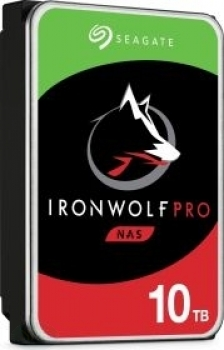 Seagate IronWolf Pro NAS HDD +Rescue 10TB, SATA 6Gb/s