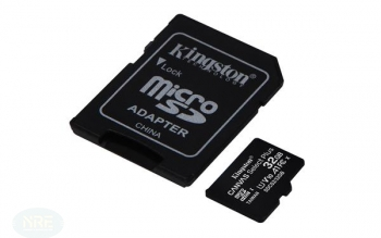 Kingston Canvas Select Plus R100 microSDHC 32GB Kit, UHS-I U1, A1, Class 10