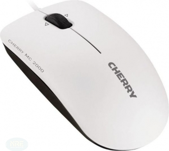 Cherry MC 2000 Maus, grau, USB, Kabel