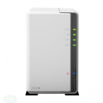 Synology DS-220J + 2 x 2 TB Seagate Ironwolf