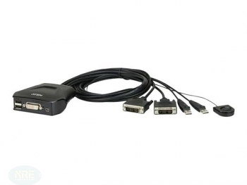 ATEN CS22D KVM Switch 2-fach, USB/DVI