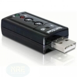 DeLOCK USB Sound Adapter 7.1, USB
