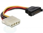 Powerkabel Adapter SATA - 4Pin Molex