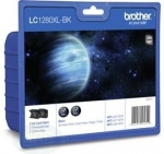 Brother LC1280XLBK Tinten schwarz Doppel-Pack