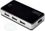 Digitus USB 2.0 7-Port Hub/extern/aktiv
