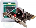 Digitus DS-3000, 2 Port Seriell/PCIe 2.0x1