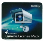 Synology: Camera Licence Pack, 4 User