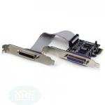 StarTech.com 2 PORT PCI-E PARALLEL ADAPTER