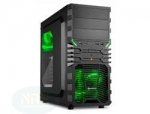 Sharkoon VG4-W GREEN ATX TOWER