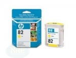 HP Ink Cartridge No.:82, yellow