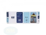 HP Ink Cartridge No:83 light cyan
