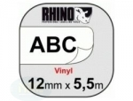 Dymo RHINO TAPE VINYL 12MM/5.5M