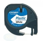 Dymo LT-TAPE 12MM/4M BLACK ON WHITE