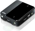 ATEN KVM Switch 2-fach/DP-USB-DVI
