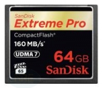 Sandisk COMPACT FLASH CARD 64GB